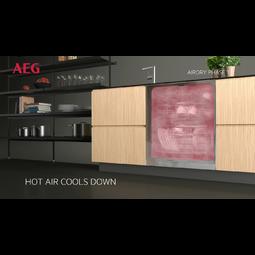 AEG - Szabadonálló mosogatógép - FFB83730PM