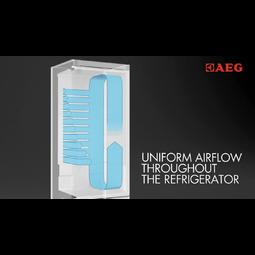 AEG - Freestanding fridge freezer - Free-standing - S83520CMW2