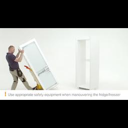 Electrolux - Встраиваемый холодильник с морозильной камерой. - ENC2854AOW