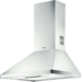 Chaminé de parede 70 cm, Slide Control, 2 filtros metálicos laváveis, Max: 420 m3/h, ruído: 63 dB(A) (máximo), Inox