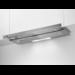 Campana extraíble «Line Up» de 90 cm con tres niveles de potencia, potencia máxima 448 m3/h y nivel de ruido mínimo de 48 dB(A), iluminación fluorescente, INOX, Clase D