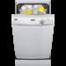 Πλυντήριο πιάτων με 9 σερβίτσια χωρητικότητα, σε silver χρώμα