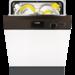 Energieeffizienzklasse A+, 49 dB, 11 L, 1,04 kWh, 13 Maßgedecke, 5 Programme, 3 Temperaturen, 3 Stunden Startzeitvorwahl, geeignet für den Hocheinbau