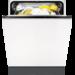 Enkel opvaskemaskine med plads op til 13 kuverter. Fuldintegrerbar model med god pladsfordeling.