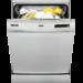 Lavavajillas con Display LCD, 5 programas a 4 temperaturas, Auto 45-70, Intensivo 70°, Inicio diferido, AutoOff, 13 cubiertos, 48 dB, Inox, Clase A+