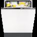 Energieeffizienzklasse A++, 47 dB, 10,2 L, 0,93 kWh, 13 Maßgedecke, 5 Programme, 4 Temperaturen, XXL-Innenraum, XtraDry, AutoOff, 1–24 Stunden Startzeitvorwahl, 2 SoftSpikes, geeignet für den Hocheinbau , Schlepptür-Technologie