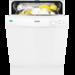 Rummelig opvaskemaskine til underbygning med plads op til 13 standardkuverter. Mulighed for udskudt start i 3 timer. Med AirDry lufttørringsteknologi for suveræne tørreresultater hver gang.