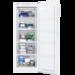 Kompakt fryseskap for enkel og fleksibel plassering. Det har et spesielt, smalt design fryser som gjør at den passer i alle hjem! Fryseskuffene er gjennomsiktige, slik at du kan se hva som er i dem selv om de er lukket.