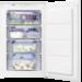 Energieeffizienzklasse A+, 88er Nische, integrierbar, LowFrost-Technik, Flexi-Space: herausnehmbare Glasablagen, Schlepptürtechnik, 98 L
