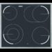60 cm, schnellaufglühende Kochzonen, Zweikreis, Bräterzone, Restwärmeanzeige
