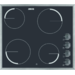 Αυτόνομη κεραμική εστία 4 ζωνών με διακόπτες χειρισμού