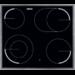 60 cm, 4 schnellaufglühende Kochzonen, 2 Kr, Bräter, Restwärmeanzeige