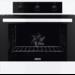 Ovn med stort ovnrum og ægte varmluft. Denne model har en mekanisk timer, samt pop-ud knapper som giver et enkelt og stilfuldt udseende, lettere rengøring og en nem betjening.