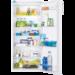 Velutstyrt kjøleskap med ekstra stor oppbevaringsplass, slik at du kan oppbevare mer mat og handle sjeldnere. Den brukervennlige betjeningen gjør det enkelt å ha full kontroll over innstillingene.