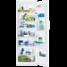 Cooler de 185x59,5x65,8, Electrómecánico, Sistema AirFlow+, Luces LED, Puerta Arqueada y Reversible, A+, Blanco (Posible instalación Side by Side con ZFU427400WA)