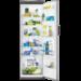 Højt A+ køleskab i rustfrit stål med AntiFingerPrint. God indretning og smart EasyStore multifunktionel opbevaringsboks medfølger.
