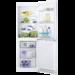 Kombiskap med god oppbevaringsplass, slik at du kan oppbevare mer mat og handle sjeldnere. Den innvendige LED-belysningen er både energibesparende og sørger for bedre lys enn vanlige lyspærer. Fleksibel, rengjøringsvennlig innredning.