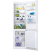 Frigorífico Combi Fresh+ de 201x59,5x63cm, Control electrónico interno, Sistema Airflow, Luces LED, Tirador Horizontal, Arqueado, Blanco, A+