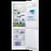 Frigorífico Combi Fresh+ de 185x59,5x63, Control electrónico interno, Sistema Airflow, Luces LED, Tirador Horizontal, Arqueado, Blanco, A+