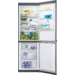 Táto chladnička s mrazničkou má svietivé a energeticky účinné žiarovky LED a hodnotenie energetickej účinnosti A++, a teda v porovnaní so spotrebičmi triedy A+ má spotrebu energie o 25 % nižšiu.