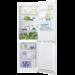 Frigorífico Combi Fresh+ de 185x59.5x63, Control electrónico interno, Sistema Airflow, Luces LED, Tirador Horizontal, Arqueado, Blanco, A+