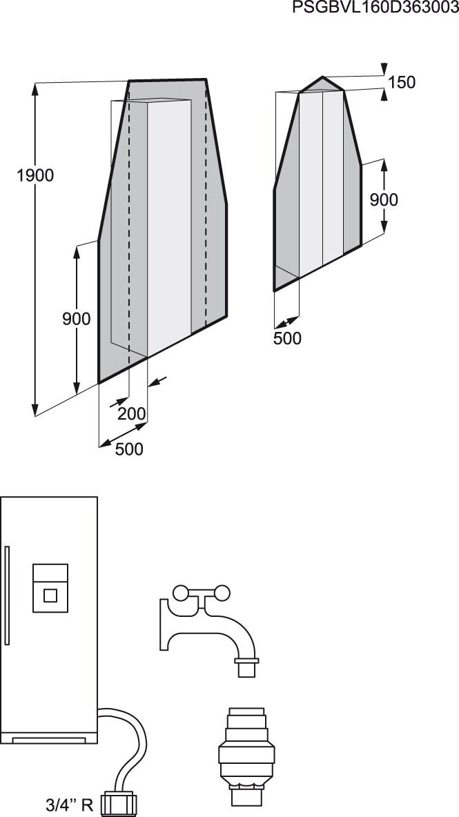 Electrolux - Congelador vertical - EUF2949GOX