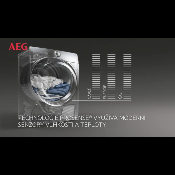 AEG - Sušička s tepelným čerpadlem - T8DEC68SC
