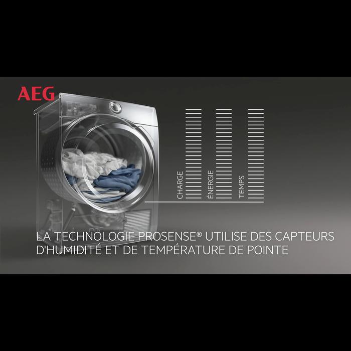 AEG - Sèche-linge pompe à chaleur - T8DEE86S