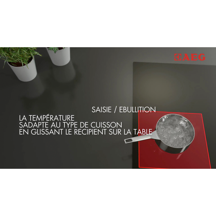 AEG - Table de cuisson à induction - HKP85410IB