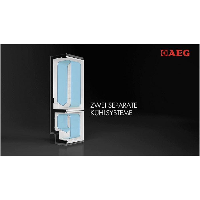 AEG - Einbau Kühl/Gefrierkombination - SCN81800C0