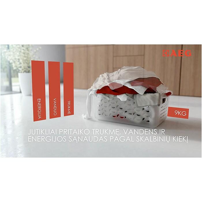 AEG - Skalbyklė kraunama iš priekio - L62260SL