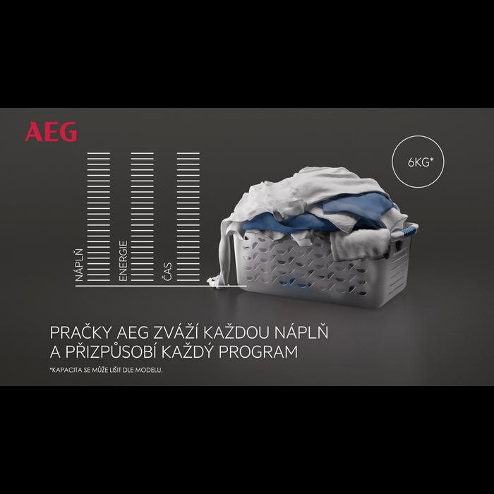 AEG - Pračka s předním plněním - L7FEC41SC