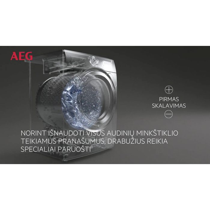 AEG - Skalbyklė kraunama iš priekio - L6FBG48S