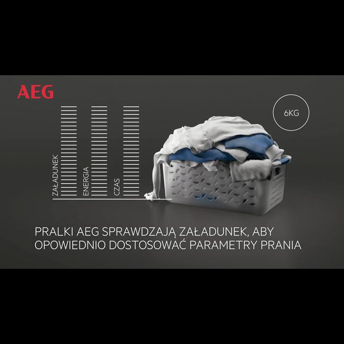 AEG - Pralka ładowana od frontu - L7FBE48SP