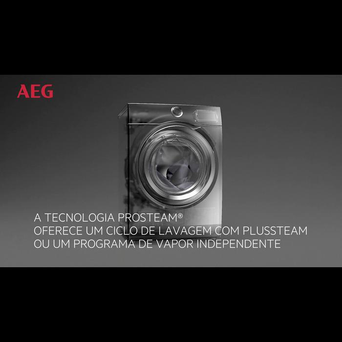 AEG - Máquina de lavar carga frontal - L8FSE842