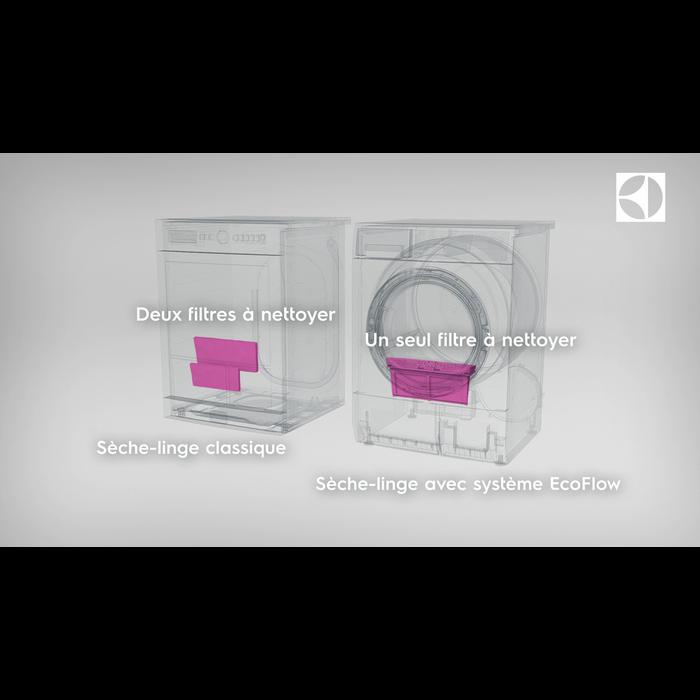 Electrolux - Sèche-linge pompe à chaleur - EDH3788GGE