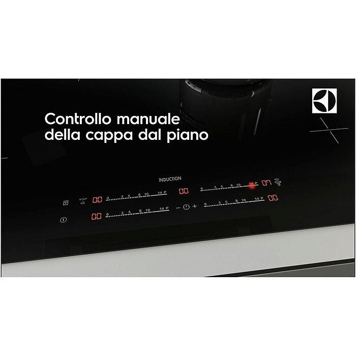 Electrolux - Piano cottura ad induzione - Built-in - KTI8500E