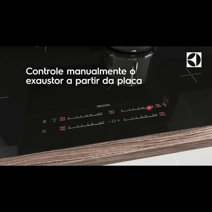 Electrolux - Placa de indução - EHI8550FHK