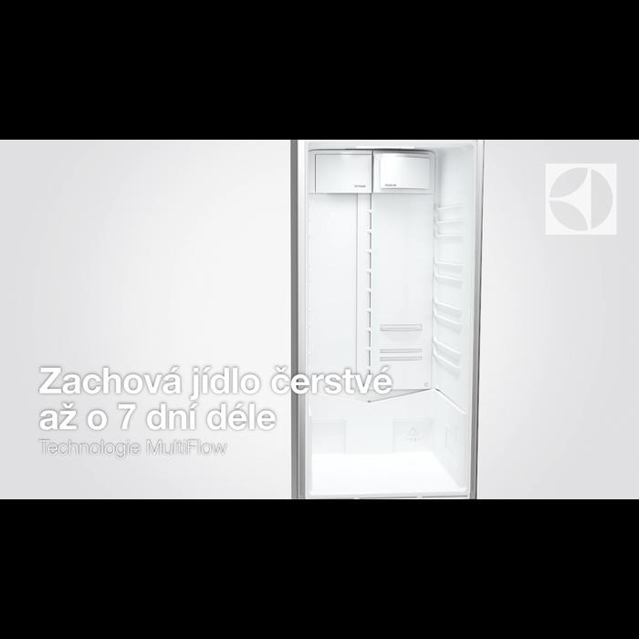 Electrolux - Volně stojící kombinovaná chladnička - EN3854NOX
