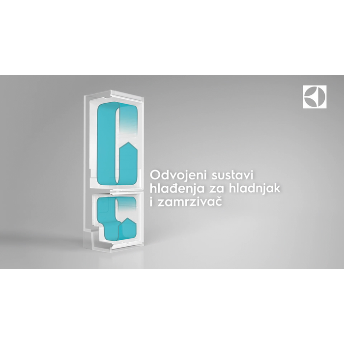 Electrolux - Samostojeći hladnjak sa zamrzivačem - Samostojeći - EN3441JOX