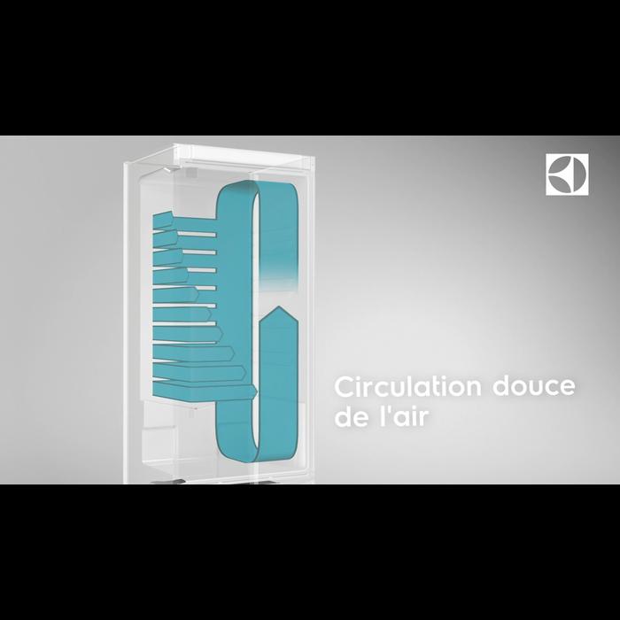 Electrolux - Réfrigérateur 2 portes pose libre - EN3889MFX
