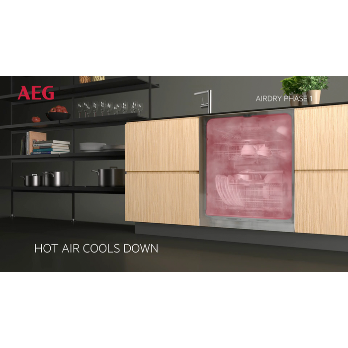 AEG - Integrated slimline dishwasher - FSK31400Z