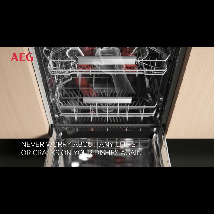AEG - Kalusteisiin sijoitettava astianpesukone - FSK93700P