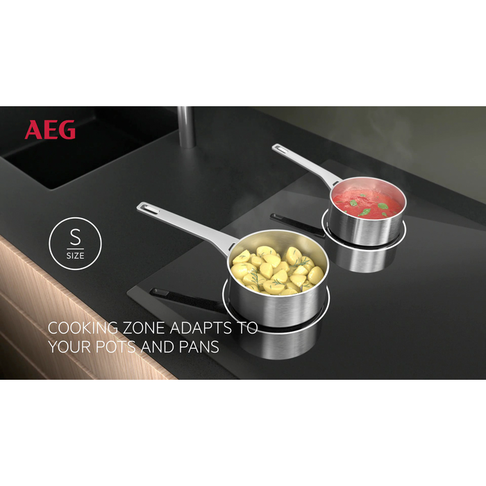 AEG - Table de cuisson à induction - HKM85510FB