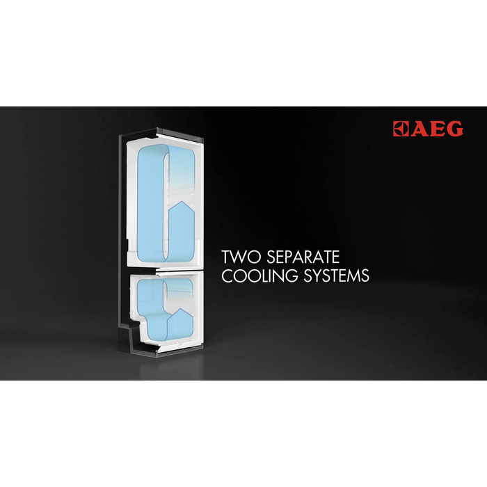 AEG - Integrated fridge freezer - Built-in - SCN71800S1