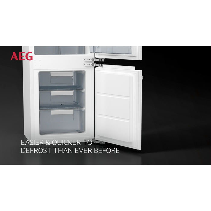 AEG - Integrated fridge freezer - Built-in - SCS51813F1