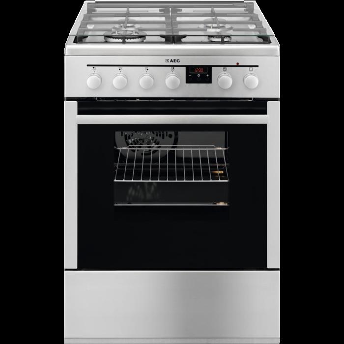 AEG - Cuisinière au gaz - 47686GT-MN
