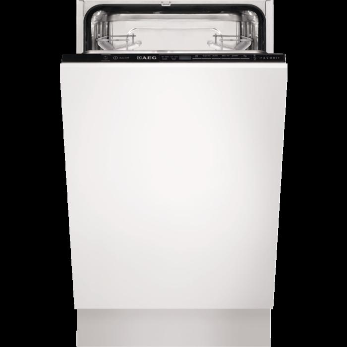 AEG - Integrated slimline dishwasher - F55412VI0