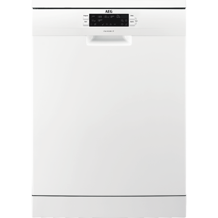 AEG - Freestanding dishwasher - FFE63700PW