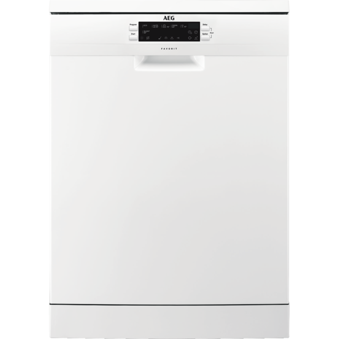 AEG - Freestanding dishwasher - FFE62620PW